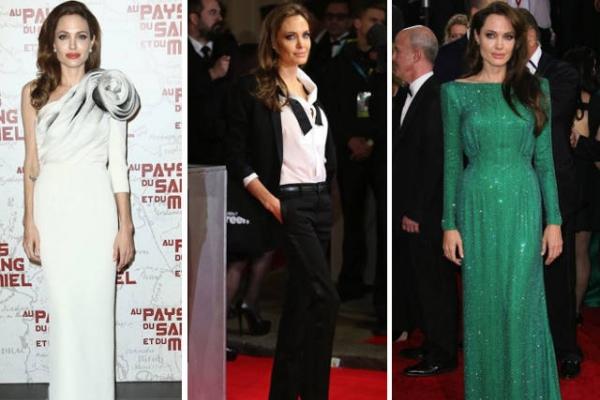 Top 10 cele mai reusite aparitii ale Angelinei Jolie pe covorul rosu