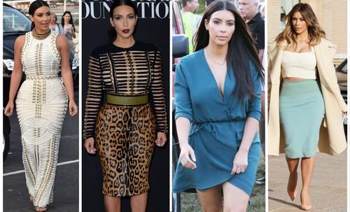 Stil de vedetă Kim Kardashian