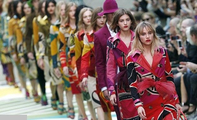 Brandul Burberry Prorsum la Saptamana Modei de la Londra 0
