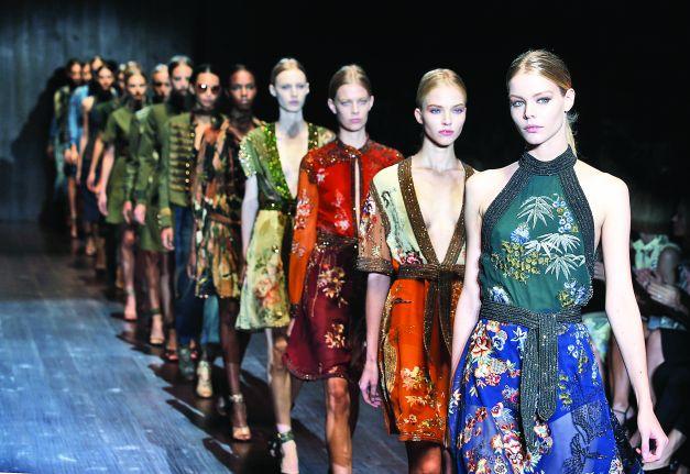 Prezentarea colecţiei Gucci