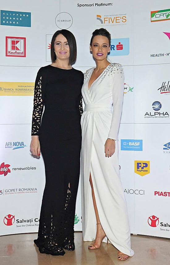 Amalia Nastase si Andreea Raicu