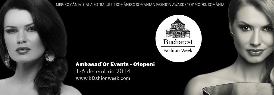 Bucharest Fashion Week, 1-6 decembrie 2014 invitatie