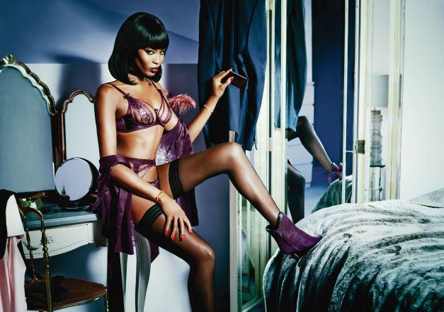 Naomi Campbell – imaginea Agent Provocateur 2015 0