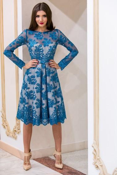 Rochie albastra de la www.talis.ro