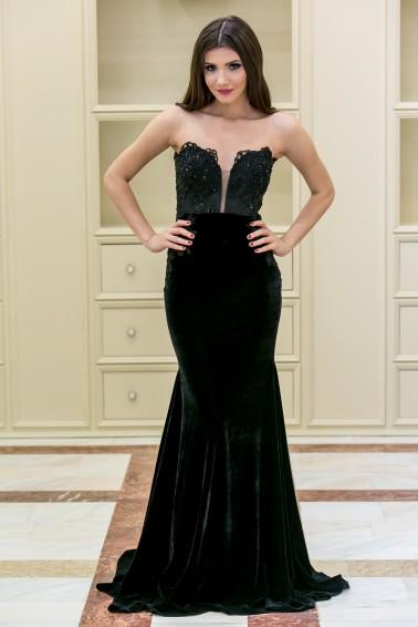 Rochie de seara neagra de la www.talis.ro