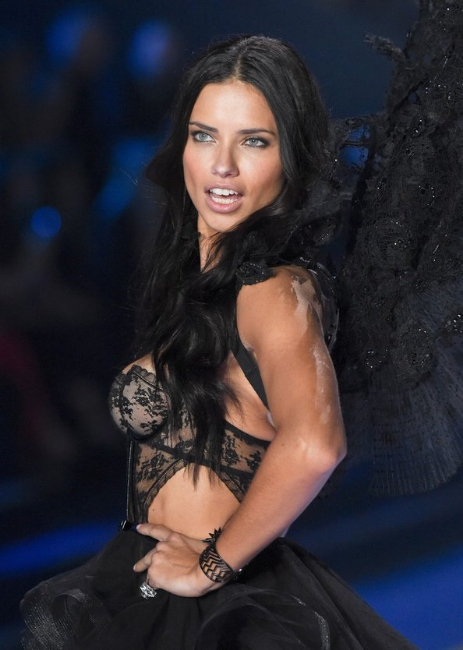 Adriana Lima at the Victoria's Secret Fashion Show