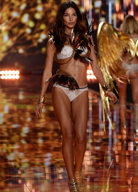 2014 Victoria's Secret Fashion Show - lily-aldridge