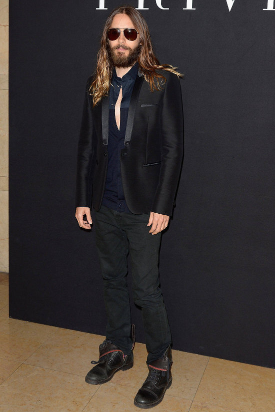 Jared Leto – fashion show Giorgio Armani