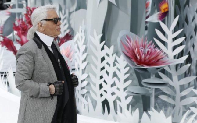 Karl Lagerfeld la Săptămâna Modei de la Paris 0