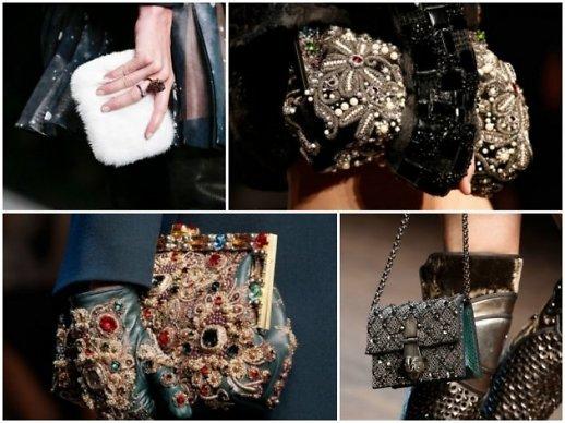 Mănuși și genți, marca Dolce&Gabanna și Fendi