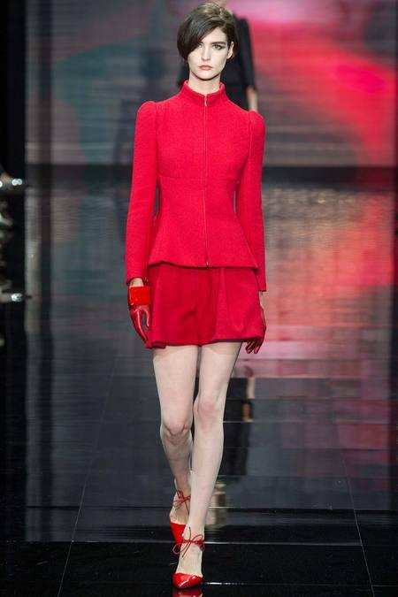 Moda Armani Privé din toamna anului 2014