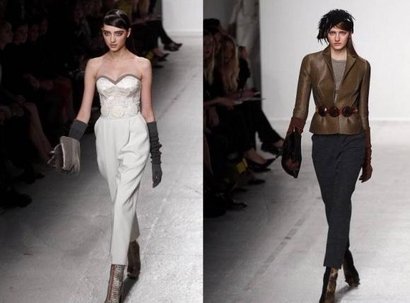 Tendințele modei la mănuși din acest an, Colecția John Galliano