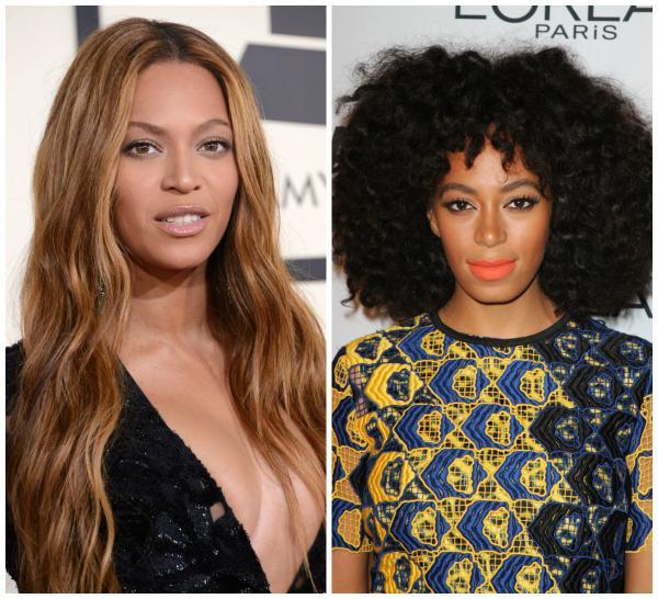 Beyonce şi Solange Knowles