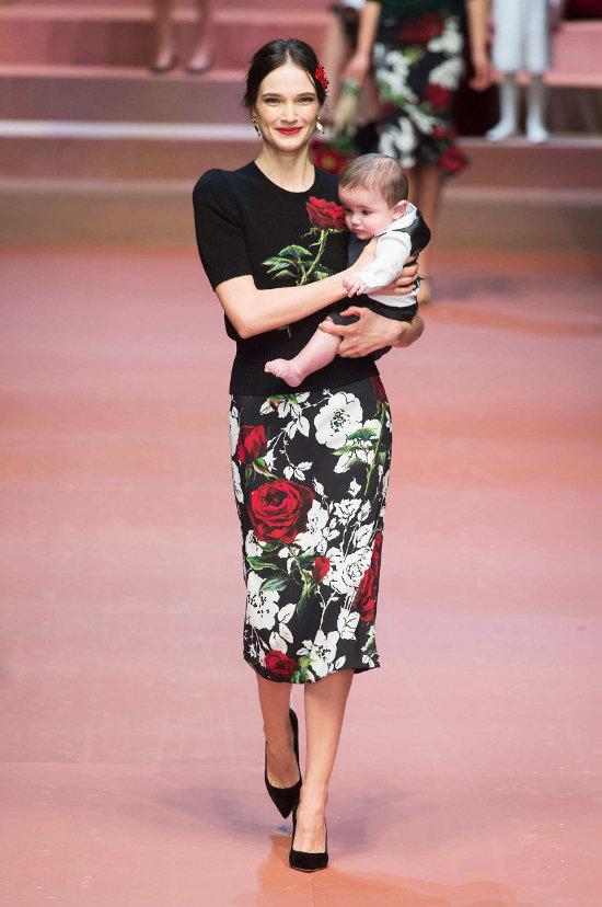 Dolce & Gabbana - colectie dedicata mamelor 1