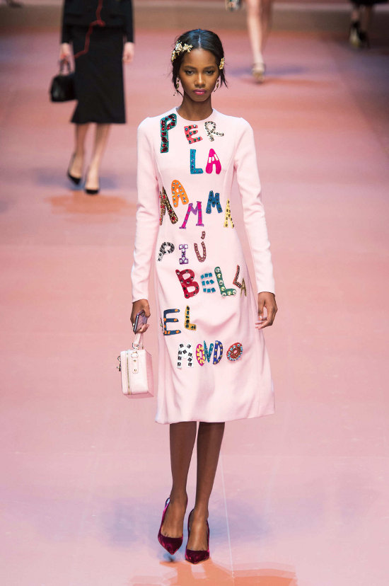 Dolce & Gabbana - colectie dedicata mamelor 4