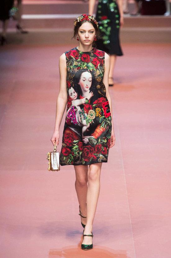 Dolce & Gabbana - colectie dedicata mamelor 5