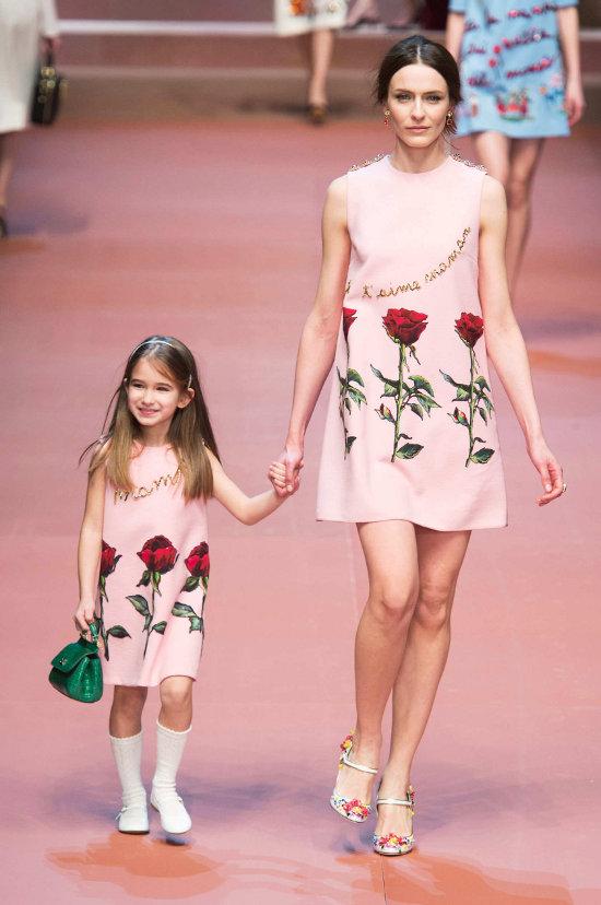 Dolce & Gabbana - colectie dedicata mamelor 7