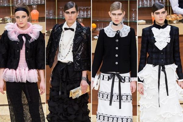 Colectia Chanel toamna iarna 2015-2016