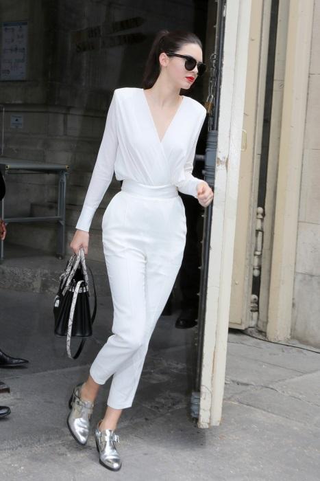 Kendall Jenner la Săptămâna Haute Couture de la Paris