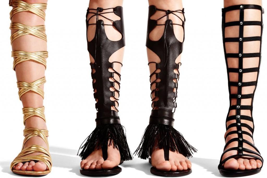 Modele de sandale gladiator