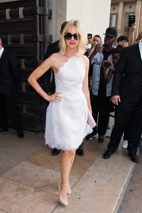 Naomi Watts la Săptămâna Haute Couture de la Paris