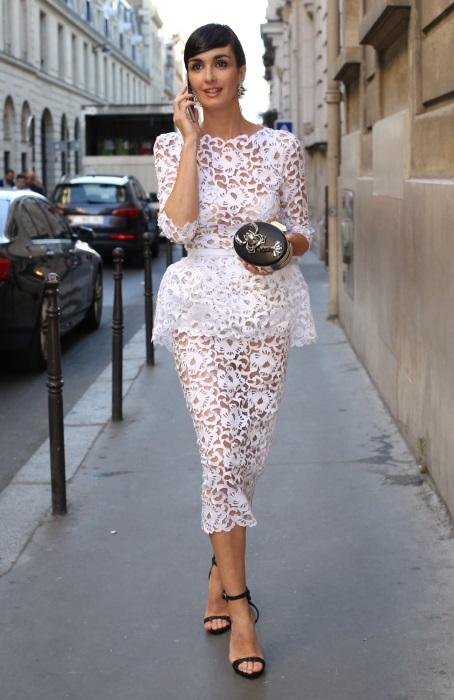 Paz Vega la Săptămâna Haute Couture de la Paris