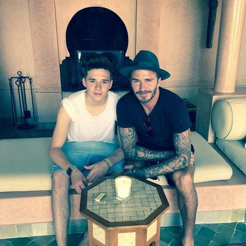Brooklyn Beckham (Parinti David Beckham si Victoria Beckham)