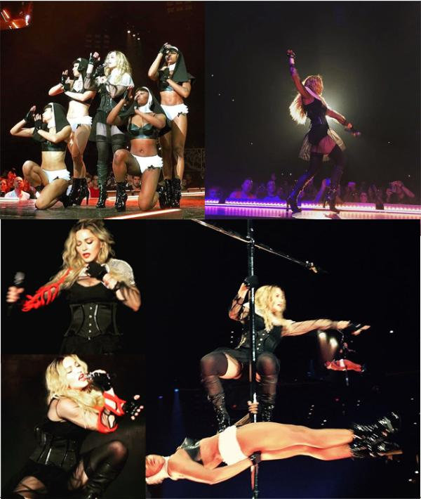 Madonna-performing-in-Montreal