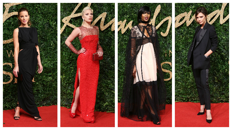 Cele mai sofisticate apariții de la British Fashion Awards