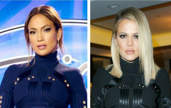 Jennifer Lopez si Khloe Kardashian