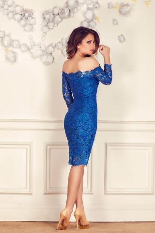 rochie-de-seara-din-dantela-brodata-pe-umeri-albastru-imperial-zaira 1