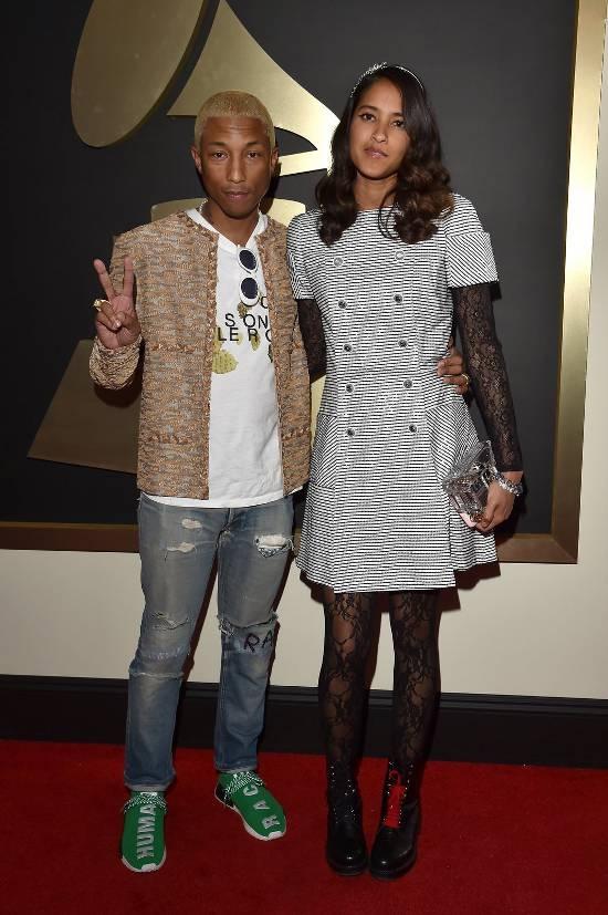 Pharrell si Helen Lasichanh