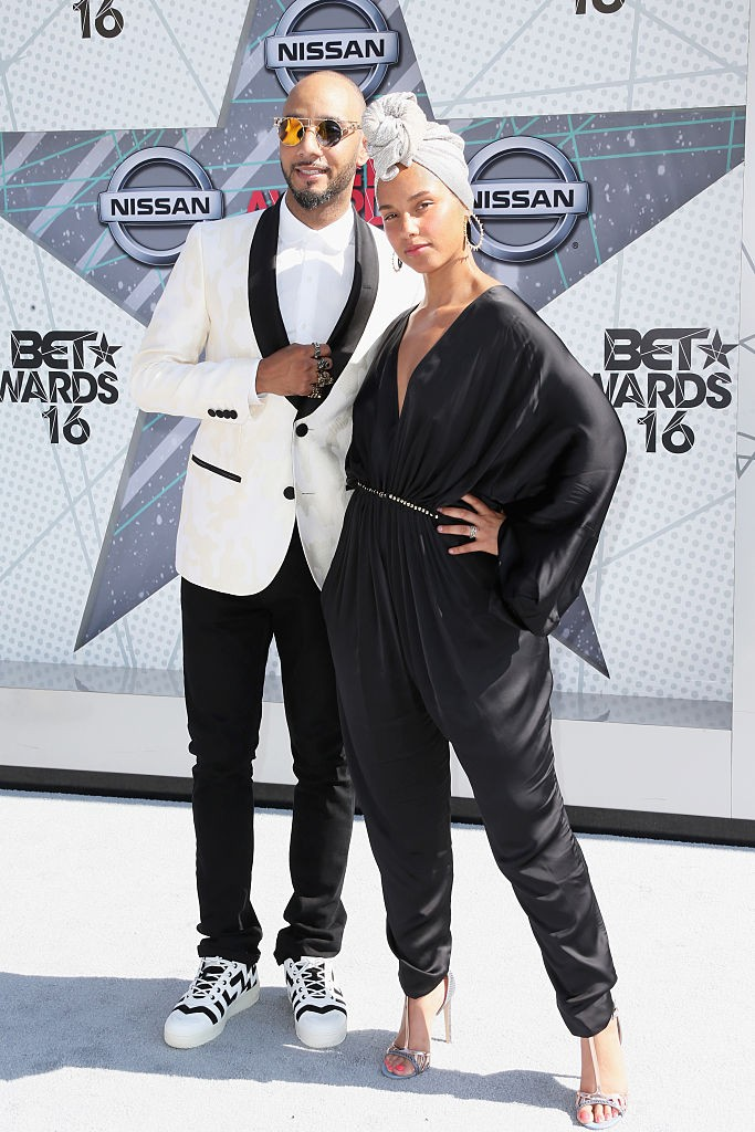 Alicia Keys si sotul Swizz Beatz