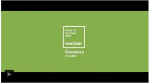 Pantone a decis - verdele crud culoarea anului 2017
