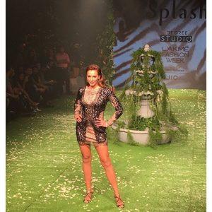 Iulia Vantur vedeta la Saptamana Modei de la Mumbai 3