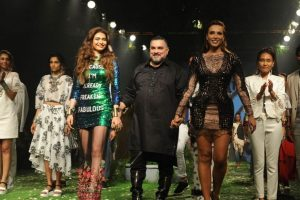 Iulia Vantur vedeta la Saptamana Modei de la Mumbai