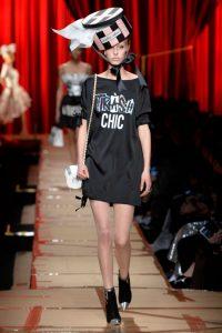 Showul Moschino – o prezentare de moda ciudata 2