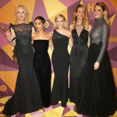 Nicole Kidman, Zoe Kravitz, Reese Witherspoon, Laura Dern si Shailene Woodley