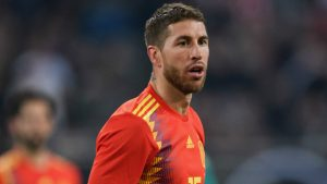 Sergio Ramos - capitanul Spaniei