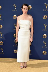 Claire Foy rochie Calvin Klein by Appointment