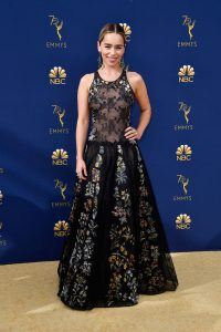 Emilia Clarke rochie Dior