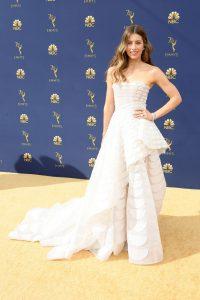 Jessica Biel rochie Ralph & Russo Hate Couture