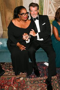 Oprah si Pierce Brosnan