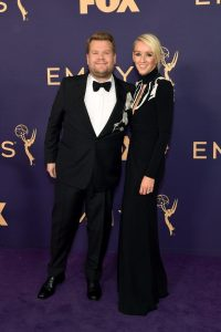 James Corden si Julia Carey